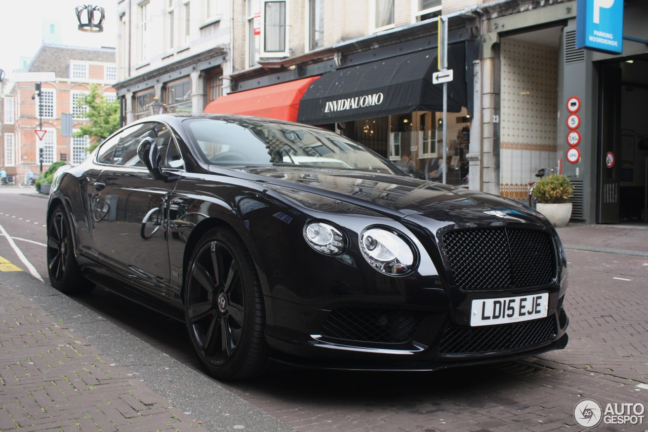 Bentley Continental Gt V S Concours Series Black C on Purple Bentley Continental Gt