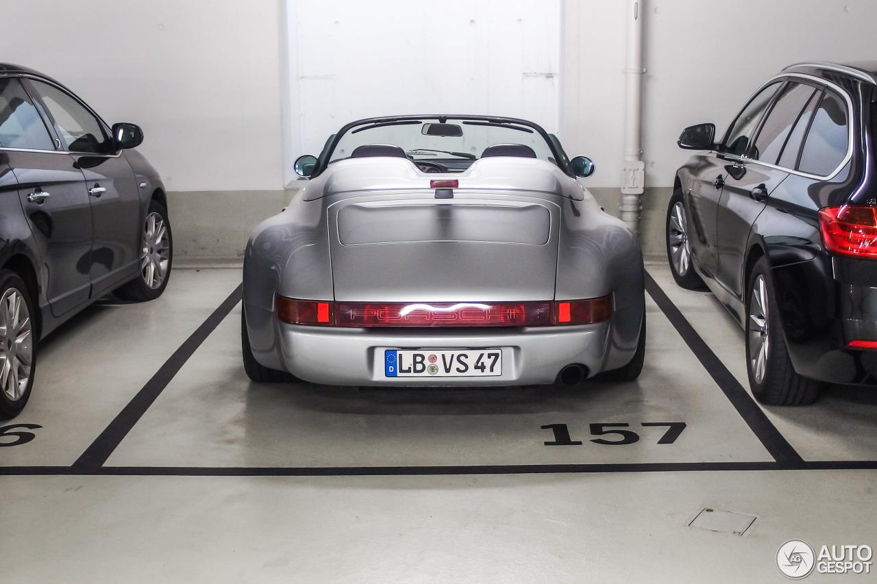 Porsche Strosek 964 Speedster 27 Juin 2015 Autogespot