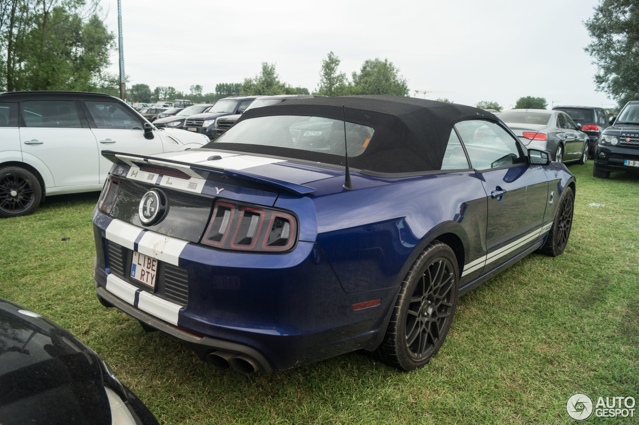 ford mustang shelby gt500 convertible 2014 28 juni 2015 autogespot. Black Bedroom Furniture Sets. Home Design Ideas