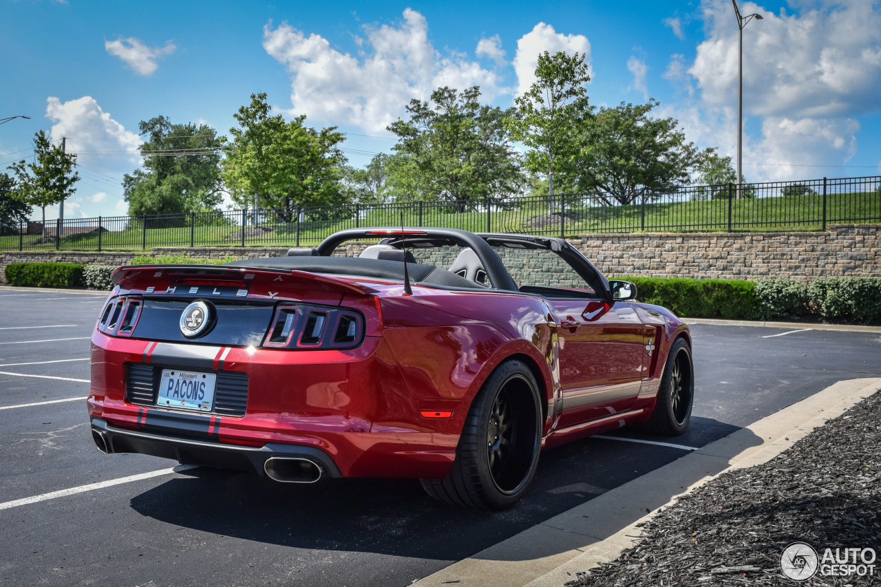 10 i ford mustang shelby gt500 super snake convertible 2014 10