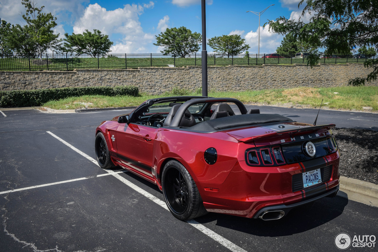 Ford Mustang Shelby Gt500 Super Snake Convertible 2017