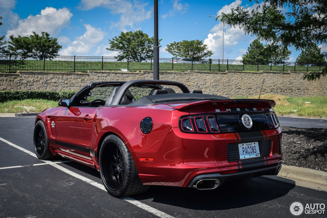 6 i ford mustang shelby gt500 super snake convertible 2014 6