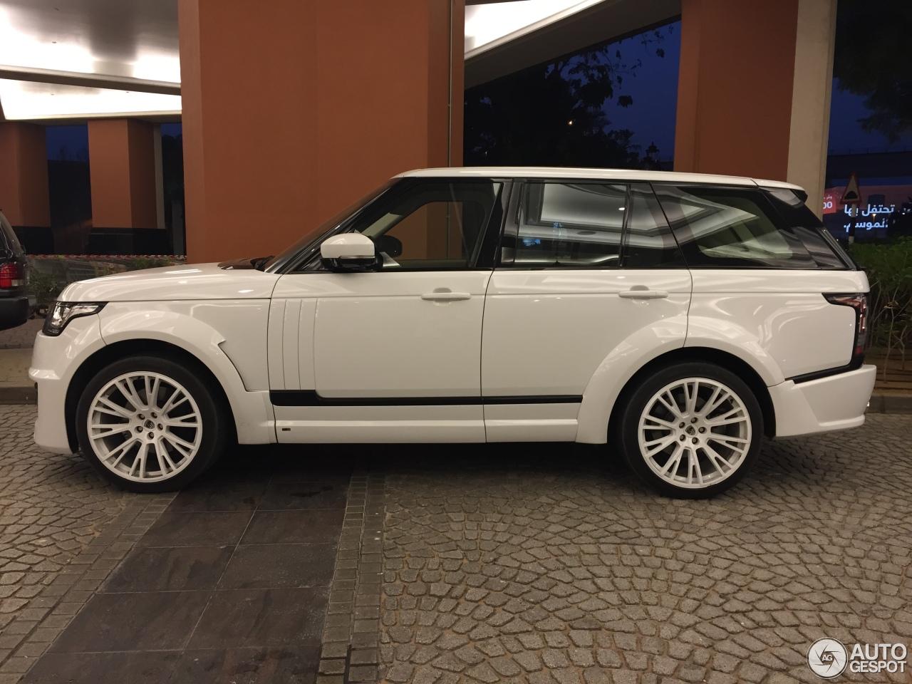 Land Rover Range Rover Lumma Clr R 1 July 2015 Autogespot