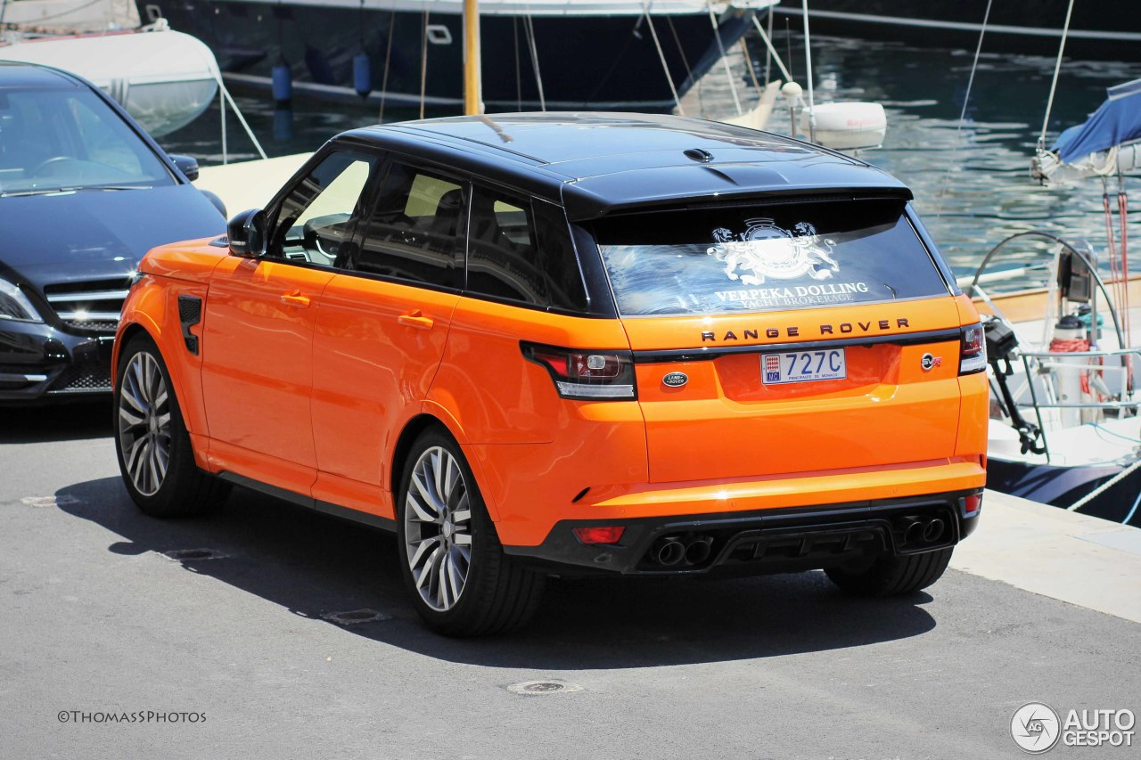 Land Rover Range Rover Sport Svr 1 July 2015 Autogespot