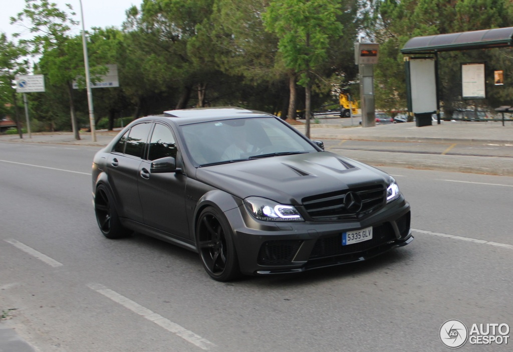 Mercedes Benz C 63 Amg W204 2 July 2015 Autogespot