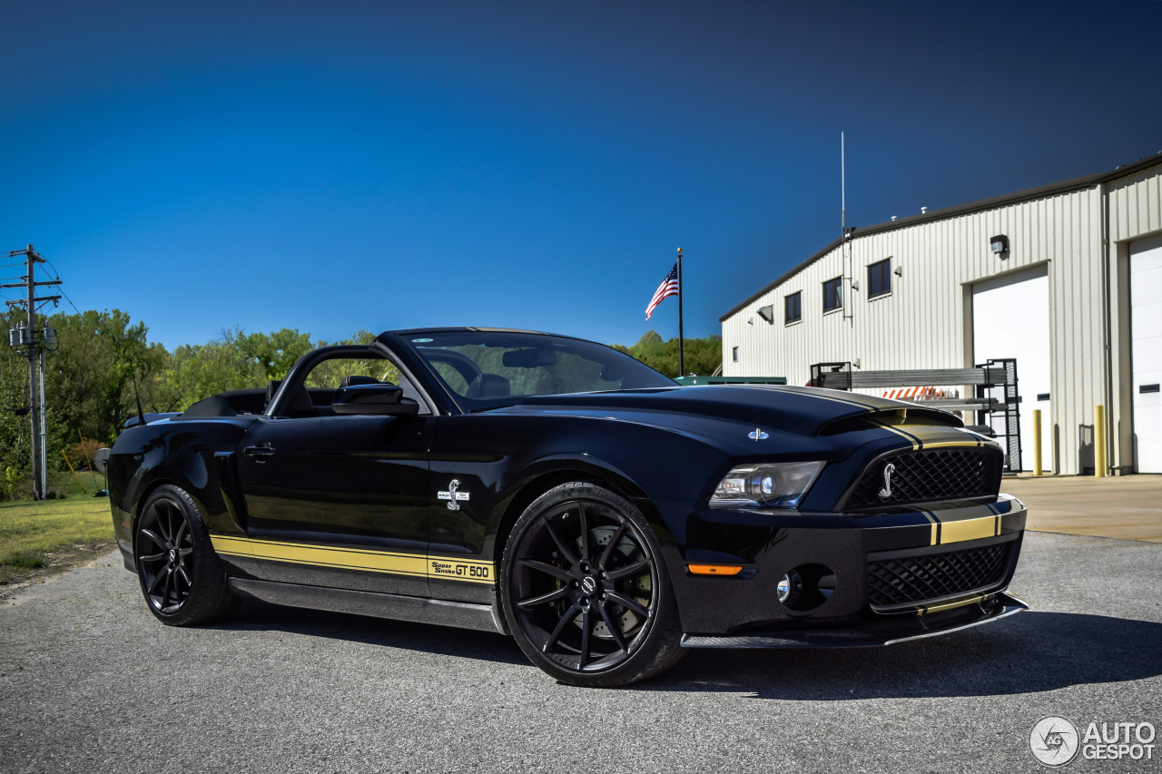 Ford Mustang Shelby Gt500 Super Snake Convertible 2011