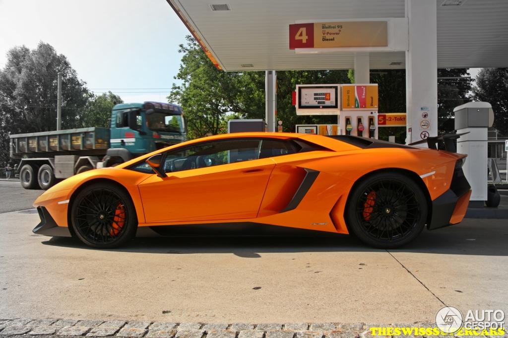 Lamborghini Aventador Lp750 4 Superveloce 3 July 2015 Autogespot