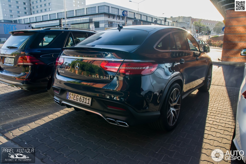 Mercedes amg gle 63 s coup 5 juillet 2015 autogespot for Mercedes benz gle 63 amg