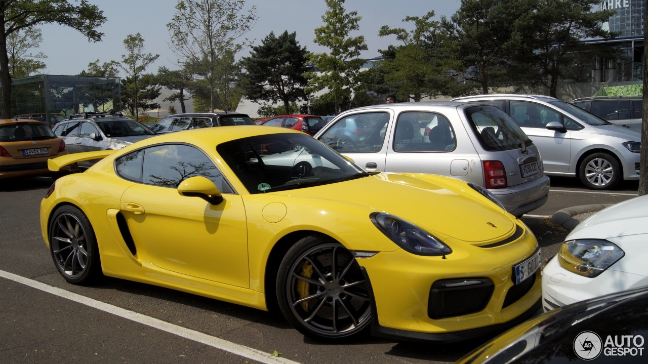 porsche 981 cayman gt4 5 july 2015 autogespot. Black Bedroom Furniture Sets. Home Design Ideas