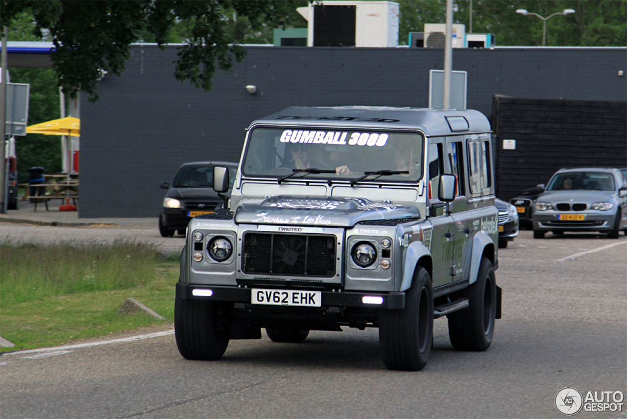 Land Rover Defender 110 CSW Twisted - 7 July 2015 - Autogespot