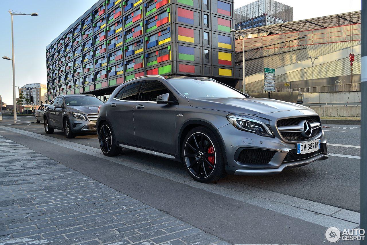 Mercedes Benz Gla 45 Amg X156 8 Juillet 2015 Autogespot