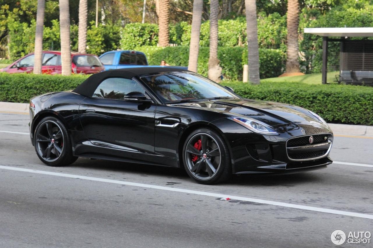 jaguar f type r convertible 9 july 2015 autogespot. Black Bedroom Furniture Sets. Home Design Ideas