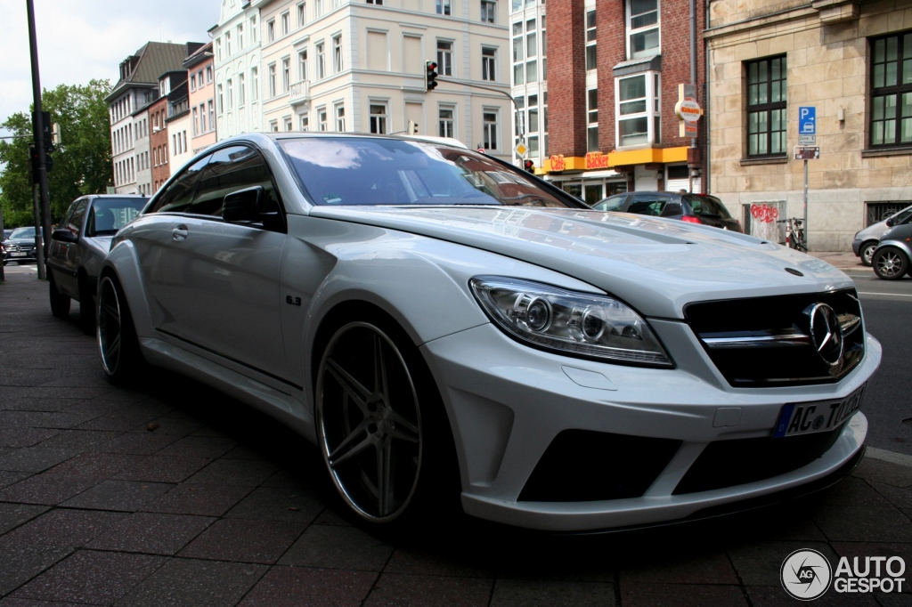 Mercedes Benz Prior Design Cl 63 Amg V2 Widebody 9 July