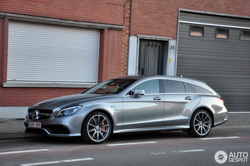 mercedes benz cls 63 amg s x218 shooting brake 2015 9. Black Bedroom Furniture Sets. Home Design Ideas