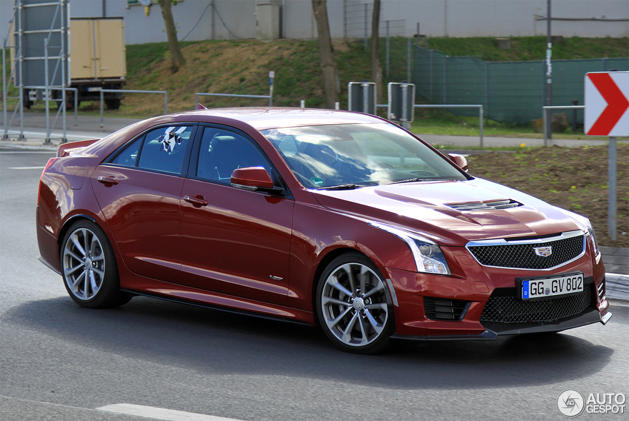 cadillac ats v 10 july 2015 autogespot. Black Bedroom Furniture Sets. Home Design Ideas