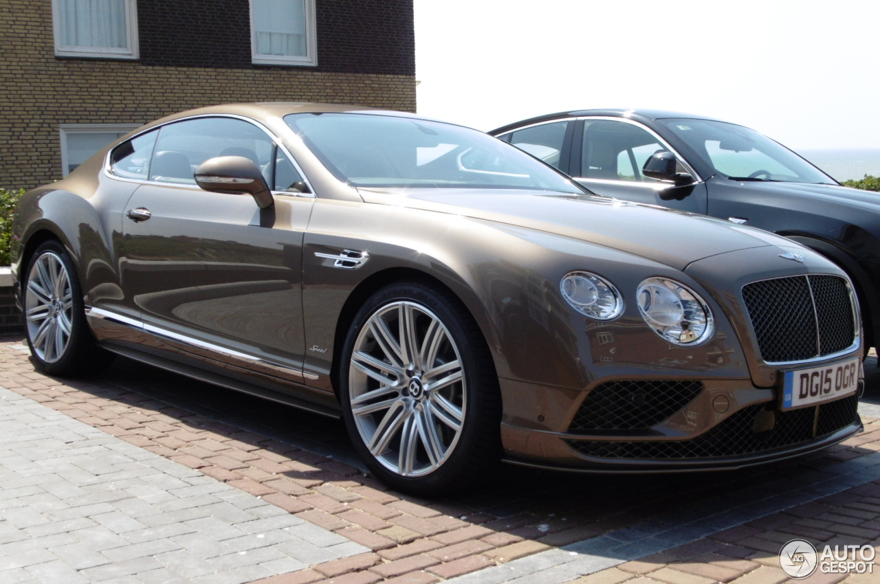 bentley continental gt speed 2016 11 juli 2015 autogespot. Black Bedroom Furniture Sets. Home Design Ideas