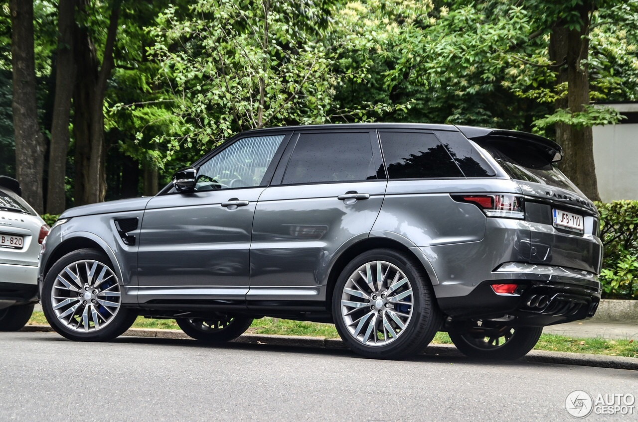 land rover range rover sport svr 11 juli 2015 autogespot. Black Bedroom Furniture Sets. Home Design Ideas