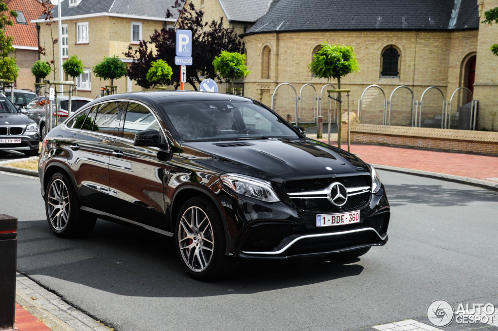 Mercedes amg gle 63 s coup 11 juli 2015 autogespot for 2017 amg gle 63 s coupe mercedes benz