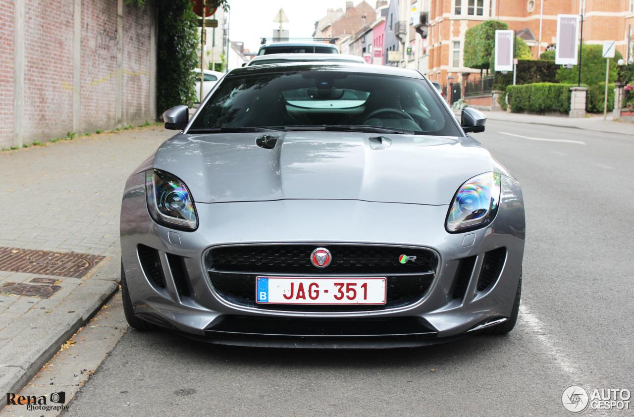Jaguar f type r coup 12 juli 2015 autogespot - Jaguar f type r coupe prix ...