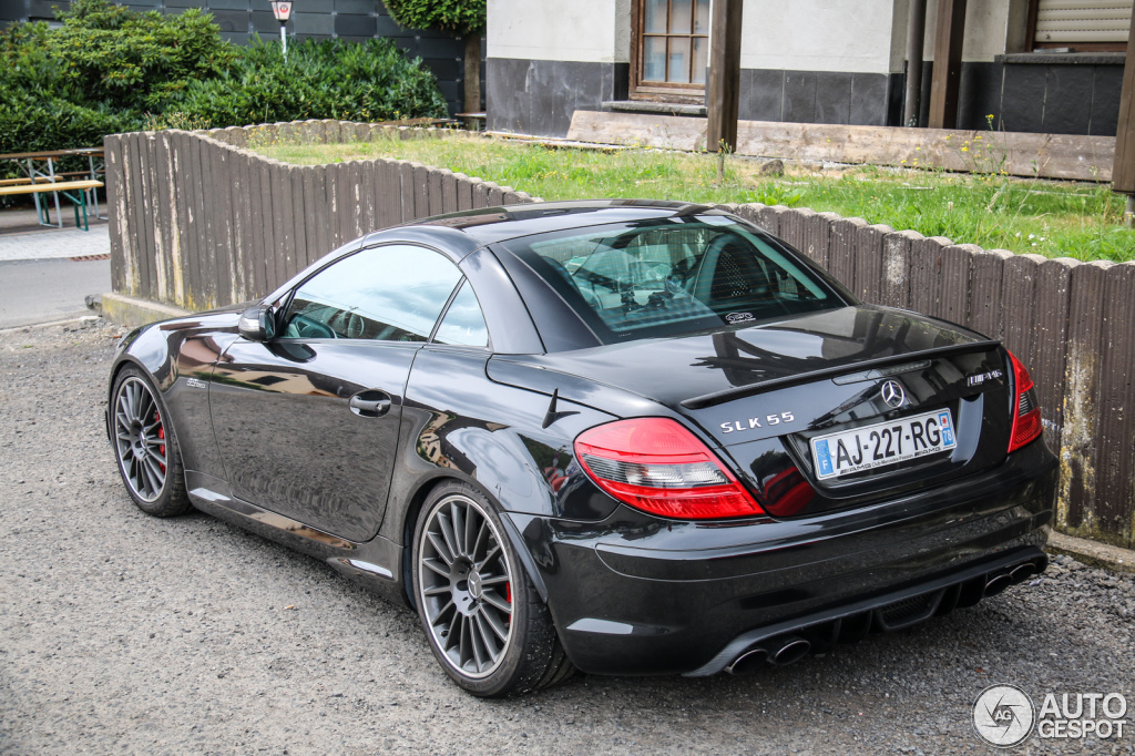 mercedes benz slk 55 amg r171 12 july 2015 autogespot. Black Bedroom Furniture Sets. Home Design Ideas
