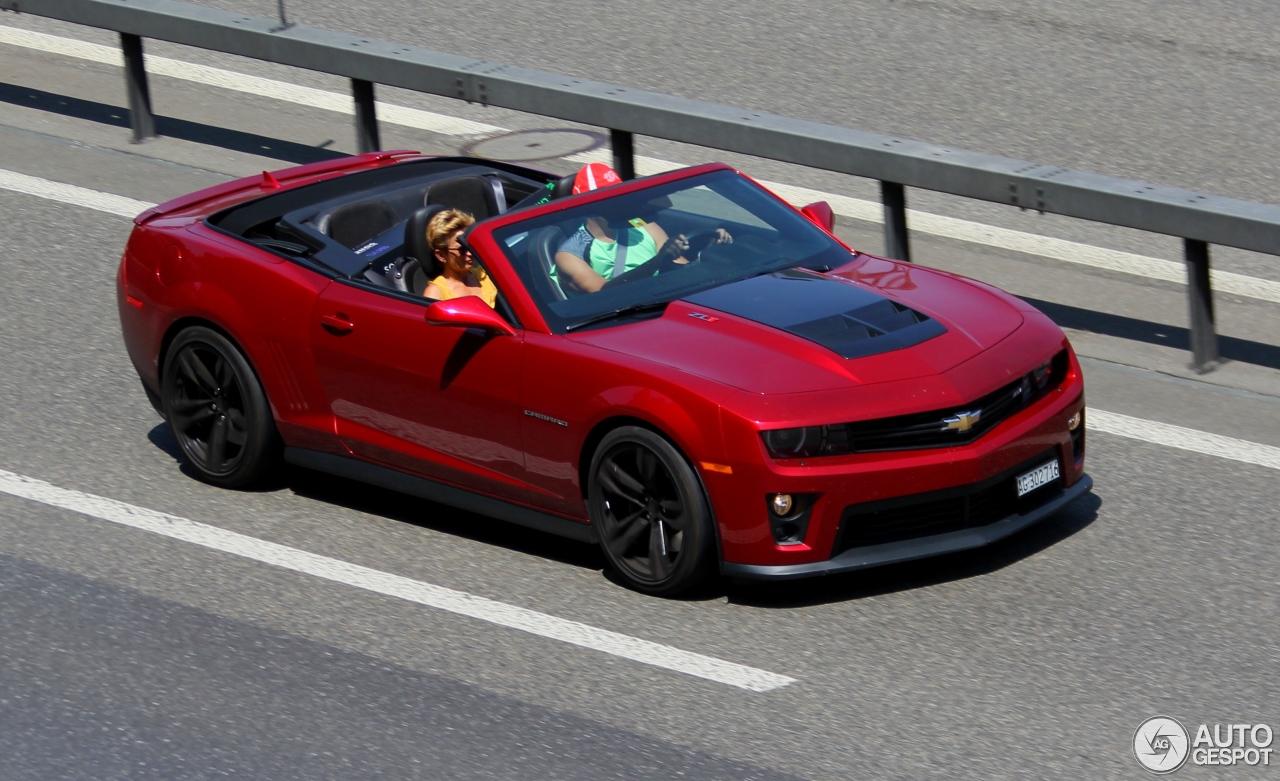 chevrolet camaro zl1 convertible 13 july 2015 autogespot. Black Bedroom Furniture Sets. Home Design Ideas