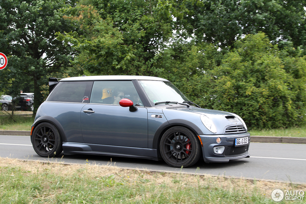 mini r53 cooper s works gp 13 july 2015 autogespot. Black Bedroom Furniture Sets. Home Design Ideas