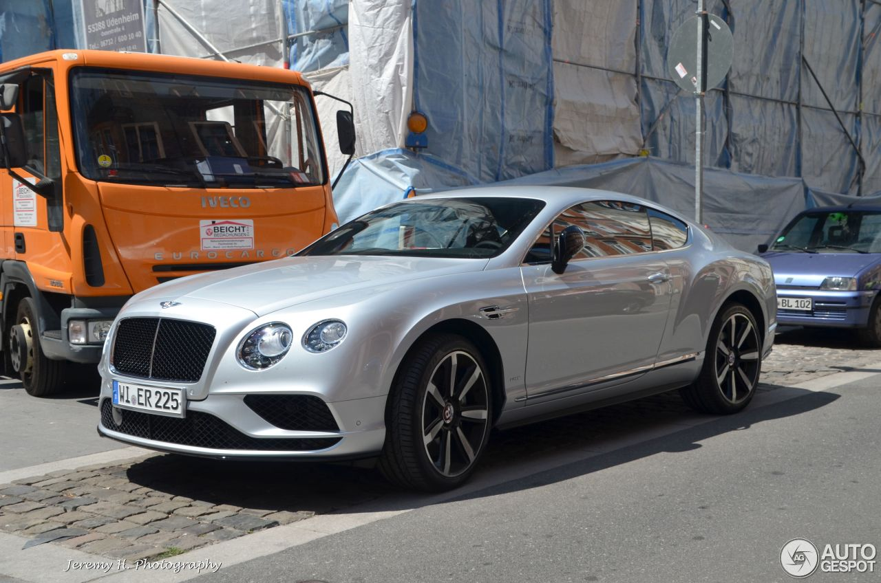 Bentley Continental GT V8 S 2016 - 15 July 2015 - Autogespot