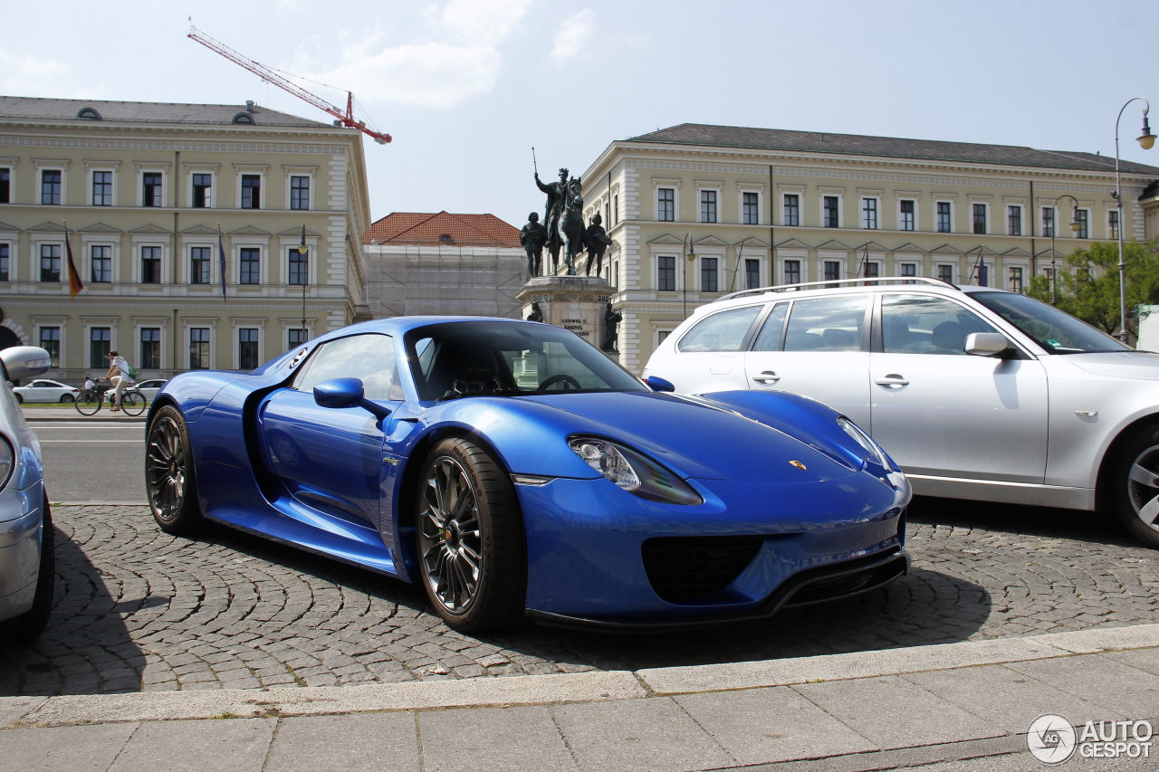 porsche 918 spyder 16 juli 2015 autogespot. Black Bedroom Furniture Sets. Home Design Ideas