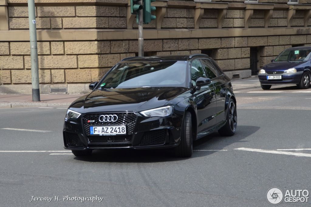 Audi RS3 Sportback 8V - 17 July 2015 - Auspot  Audi Rs Black on 2014 audi tt black, 2016 chevrolet colorado black, 2016 audi tt colors, audi a6 black, 2016 ford rs black, 2016 audi q7, 2016 camaro rs black, 2016 lexus ls black,