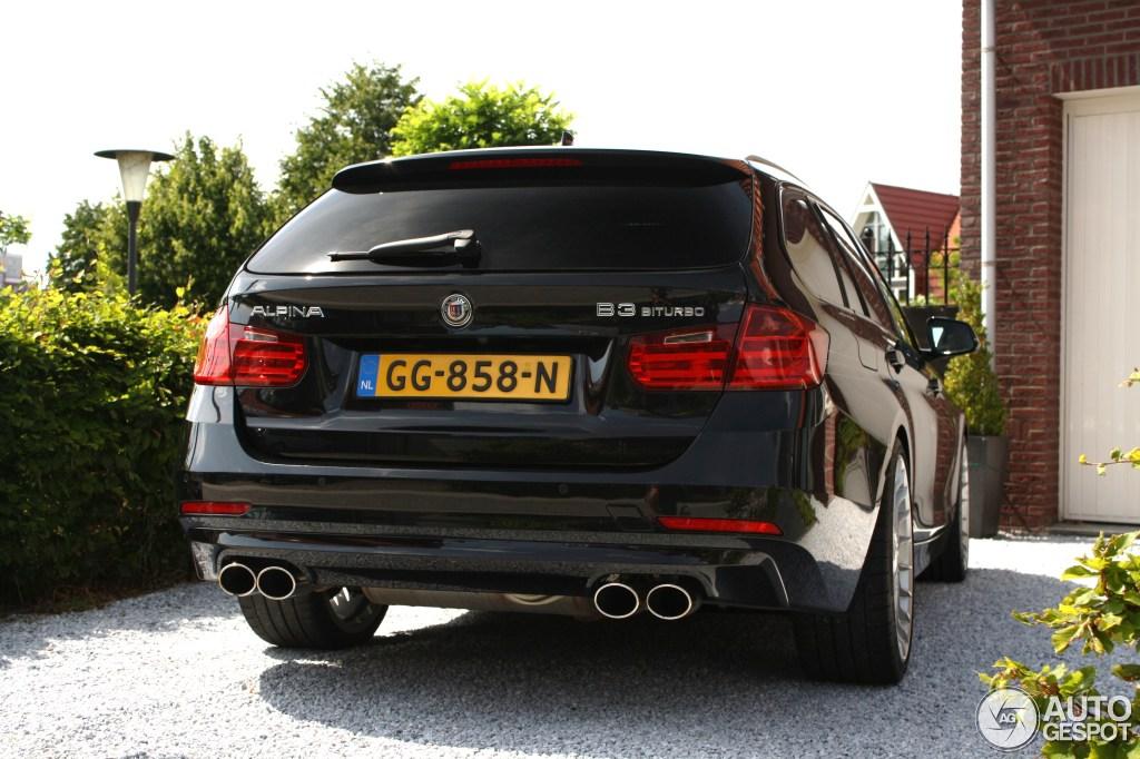 Alpina B3 Bi Turbo Touring 2013 18 July 2015 Autogespot