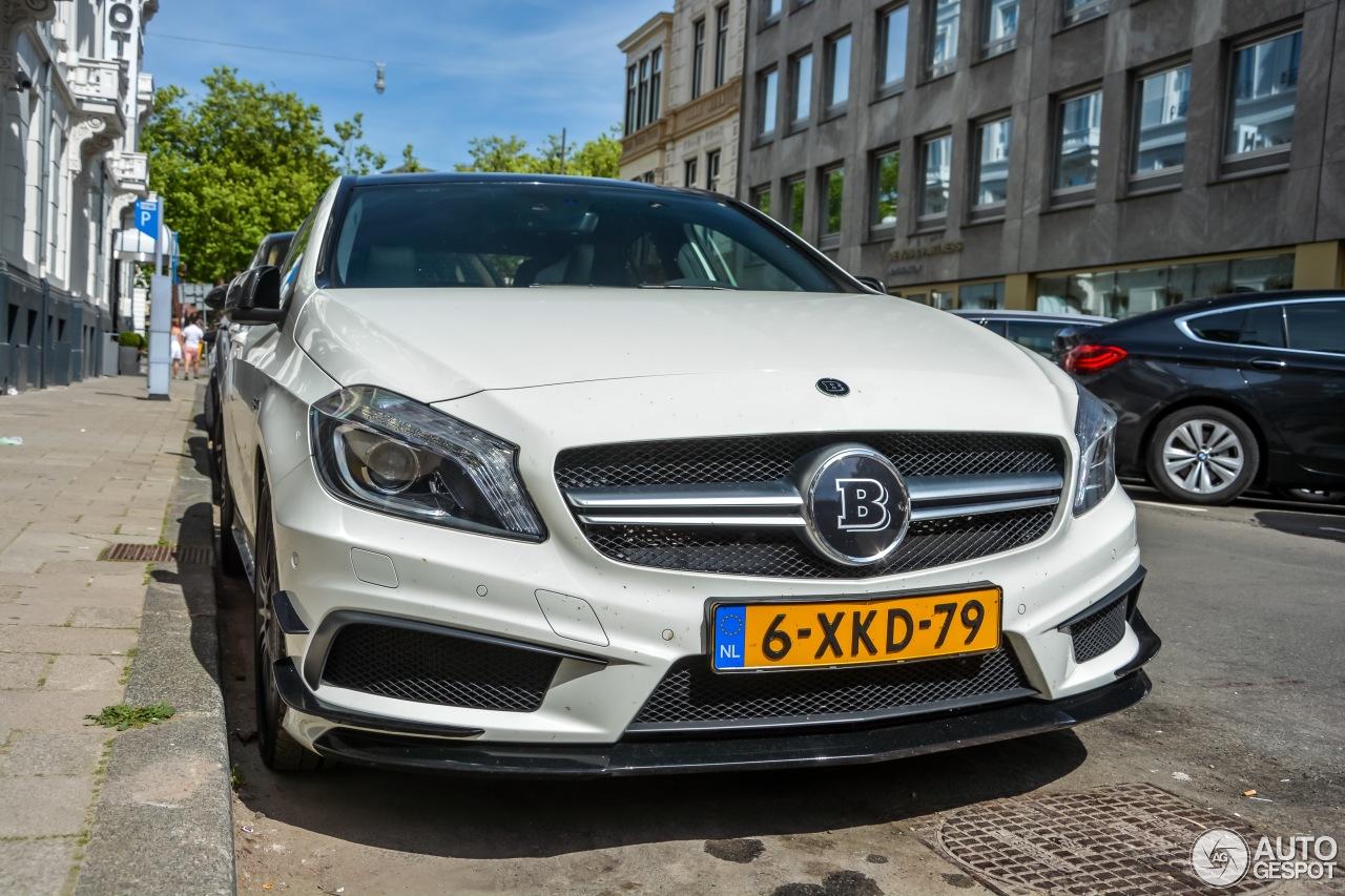 Mercedes benz brabus a b45 18 juli 2015 autogespot for Mercedes benz nl