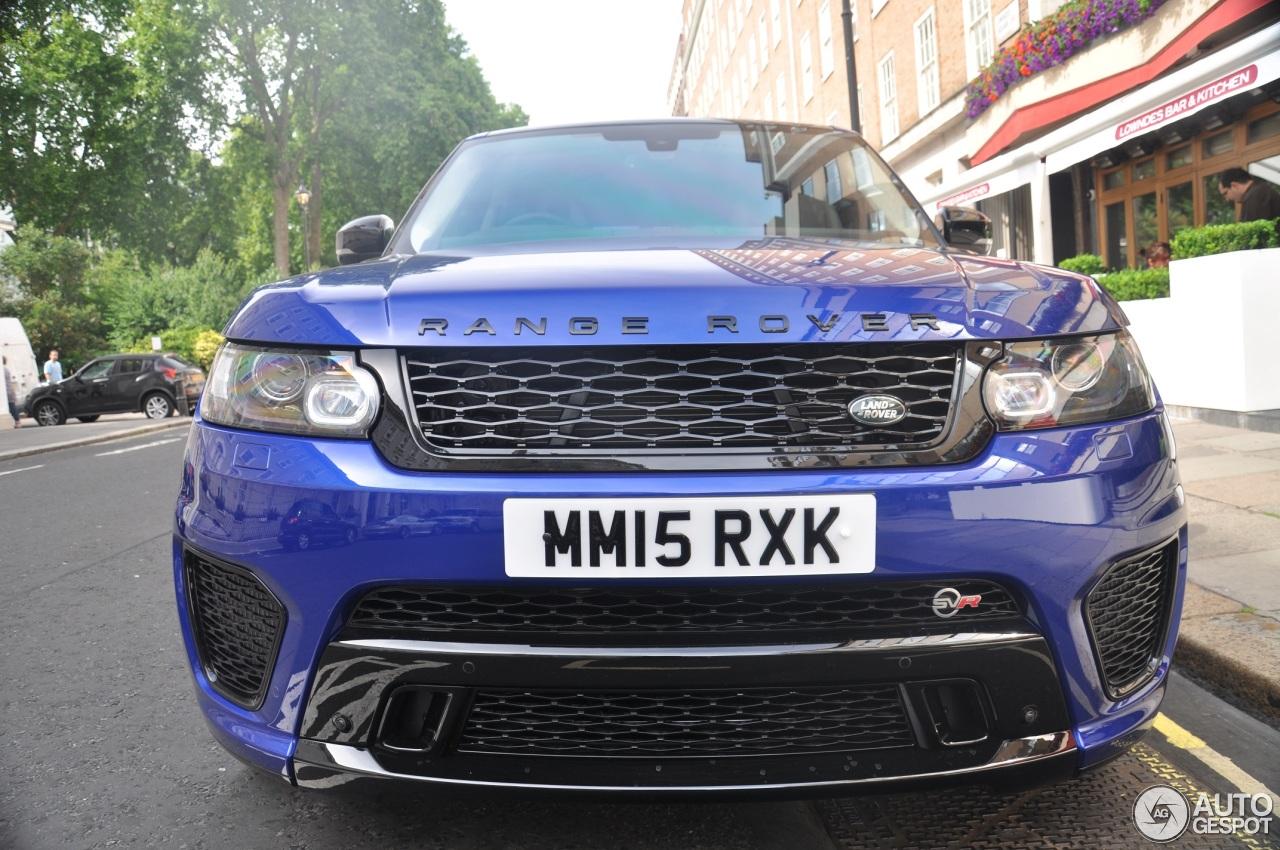 Land Rover Range Rover Sport Svr 19 July 2015 Autogespot