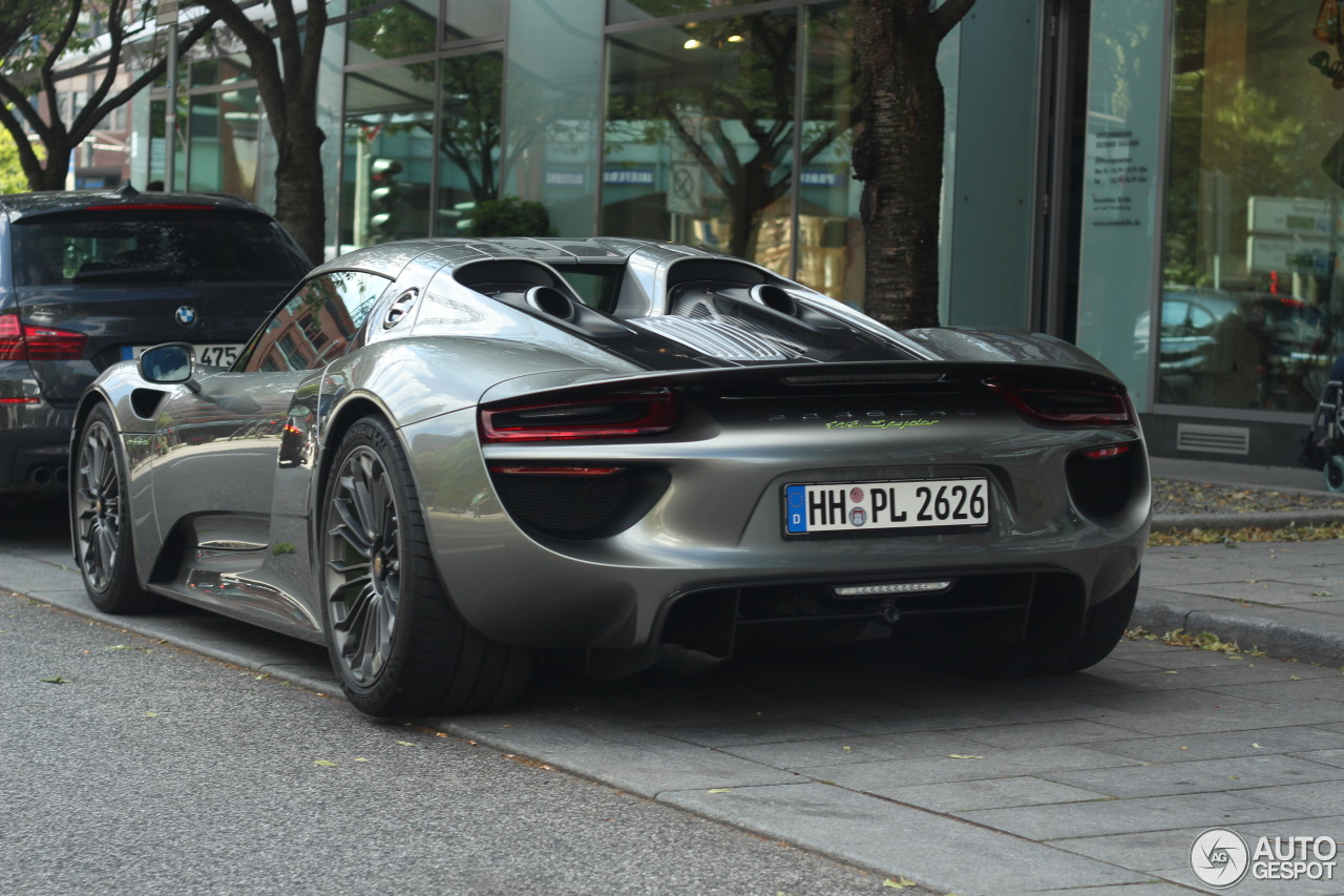 porsche 918 spyder 19 juli 2015 autogespot. Black Bedroom Furniture Sets. Home Design Ideas