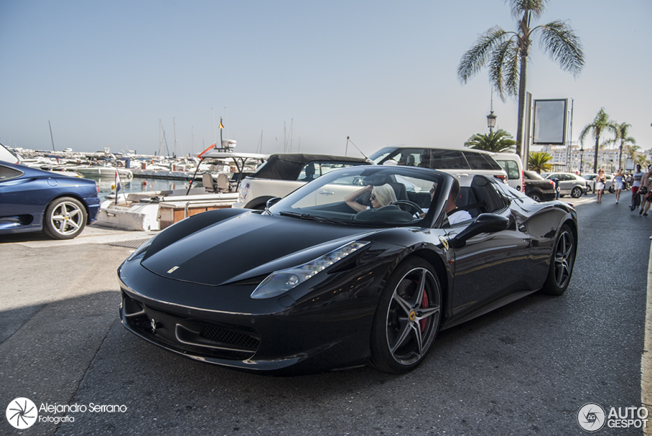 ferrari 458 spider 20 july 2015 autogespot. Black Bedroom Furniture Sets. Home Design Ideas