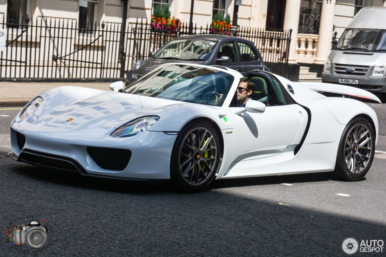 porsche 918 spyder 20 july 2015 autogespot. Black Bedroom Furniture Sets. Home Design Ideas