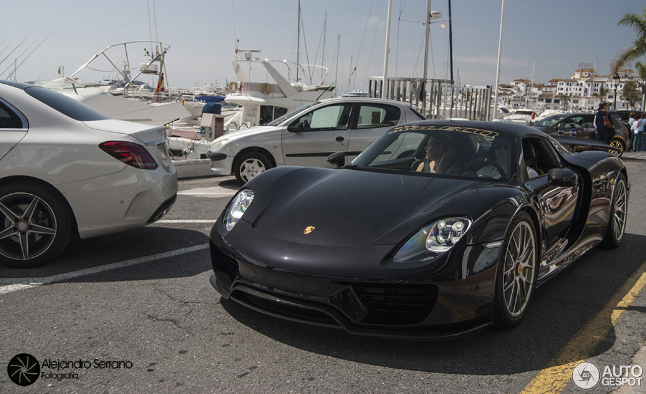 porsche 918 spyder weissach package 20 july 2015 autogespot. Black Bedroom Furniture Sets. Home Design Ideas