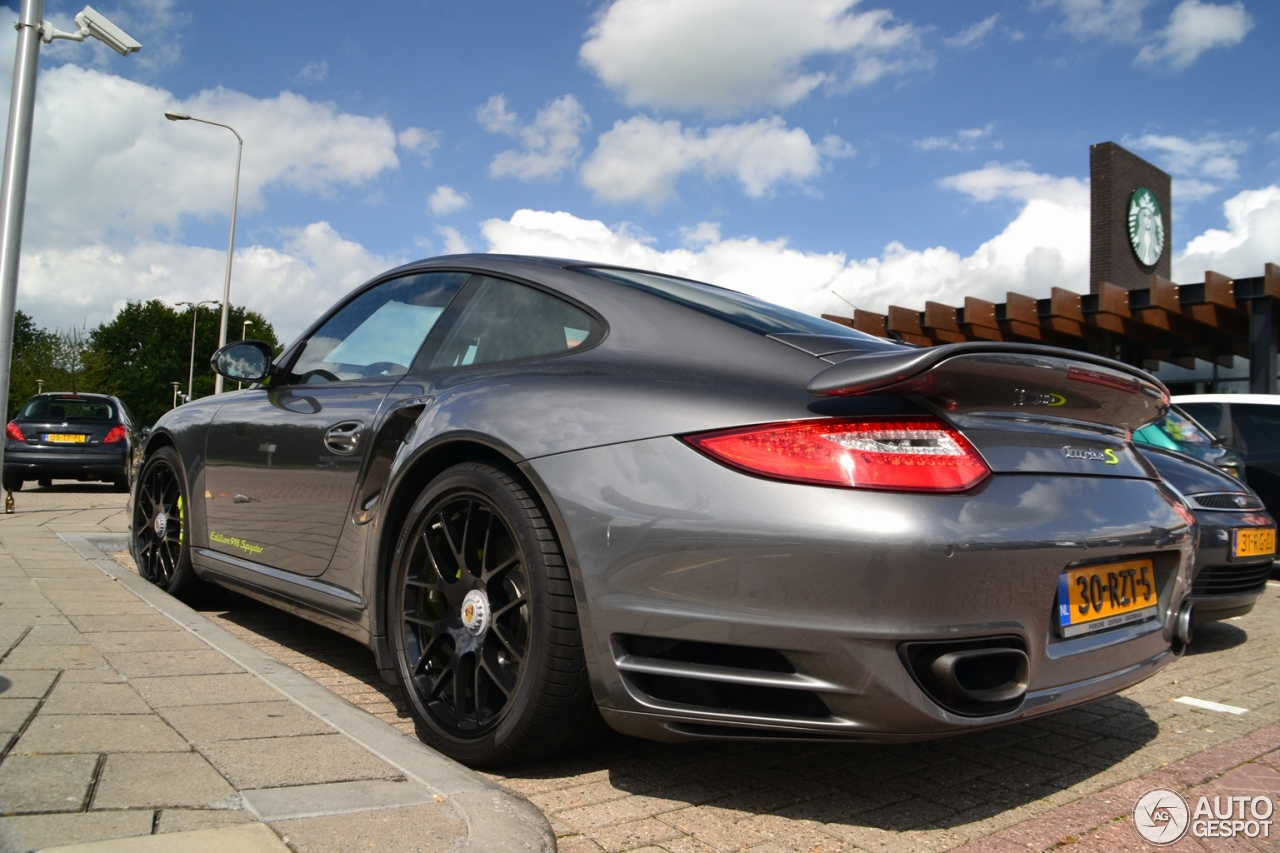 porsche 997 turbo s 918 spyder edition 20 july 2015 autogespot. Black Bedroom Furniture Sets. Home Design Ideas