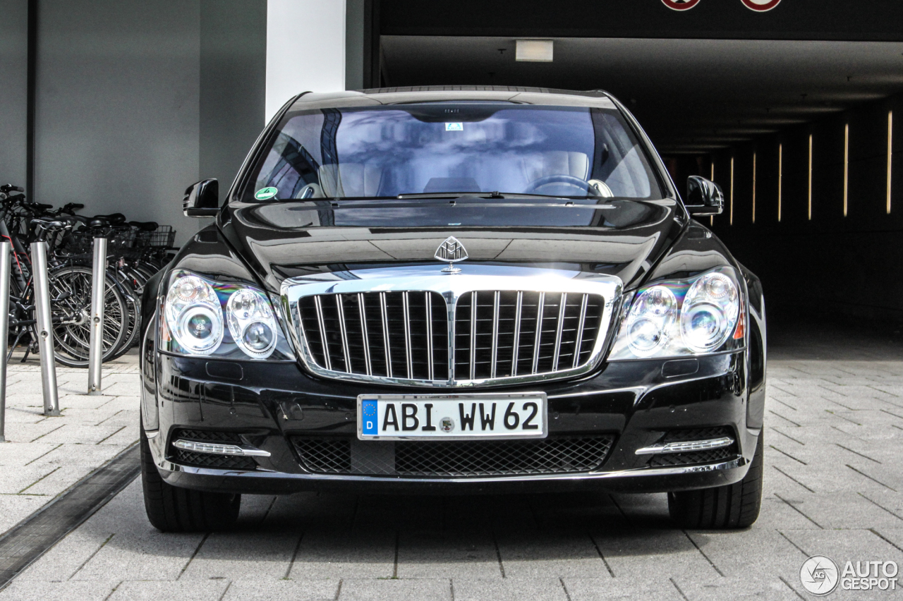 Maybach 62 S (2007) - pictures, information & specs