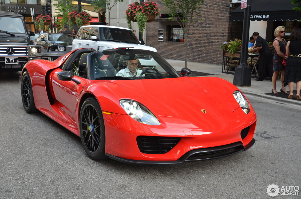 1 i porsche 918 spyder weissach package 1