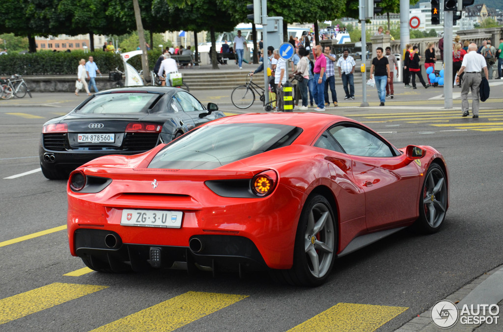 ferrari 488 gtb 27 juillet 2015 autogespot. Black Bedroom Furniture Sets. Home Design Ideas