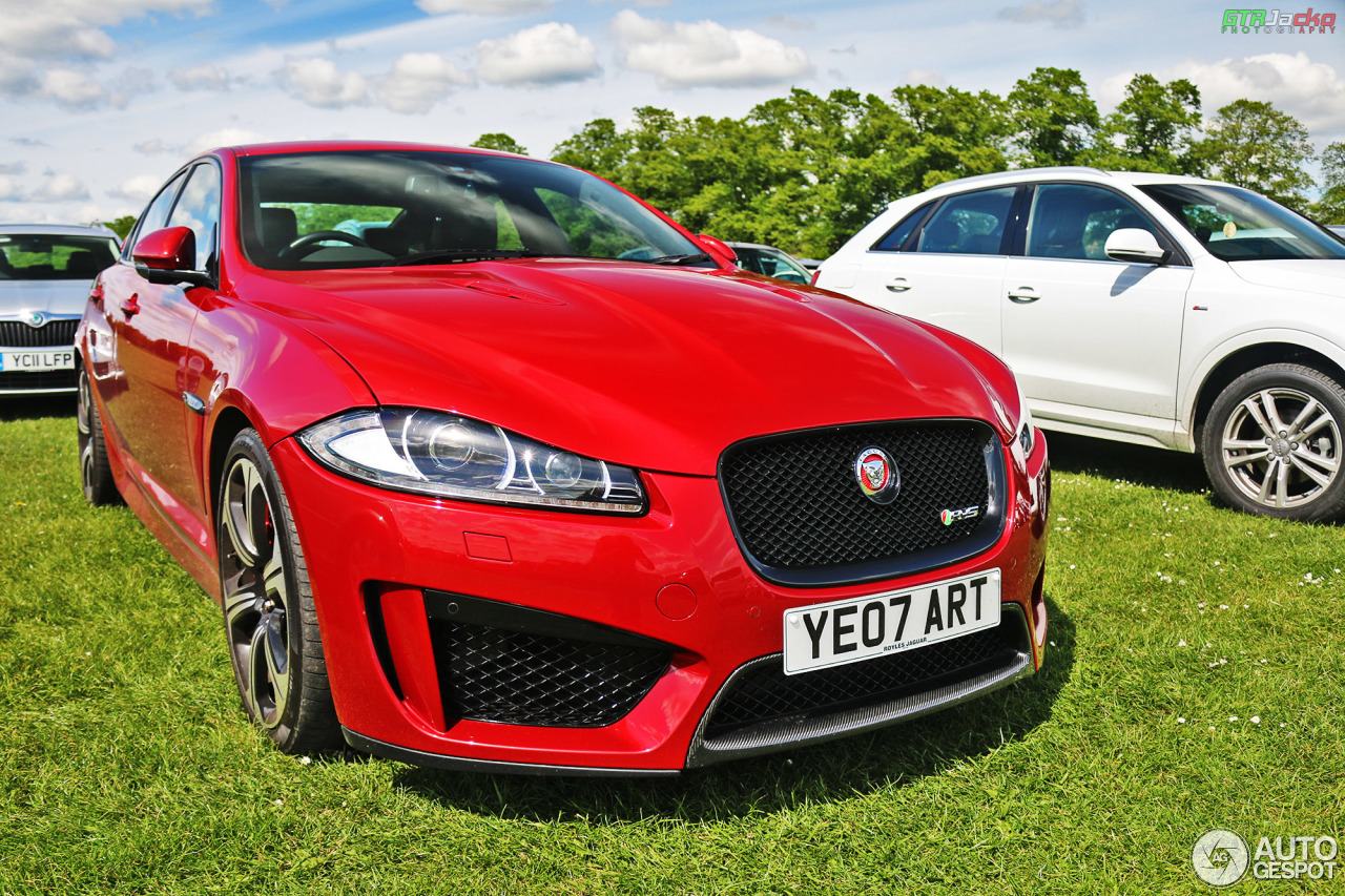 Jaguar xfr s white