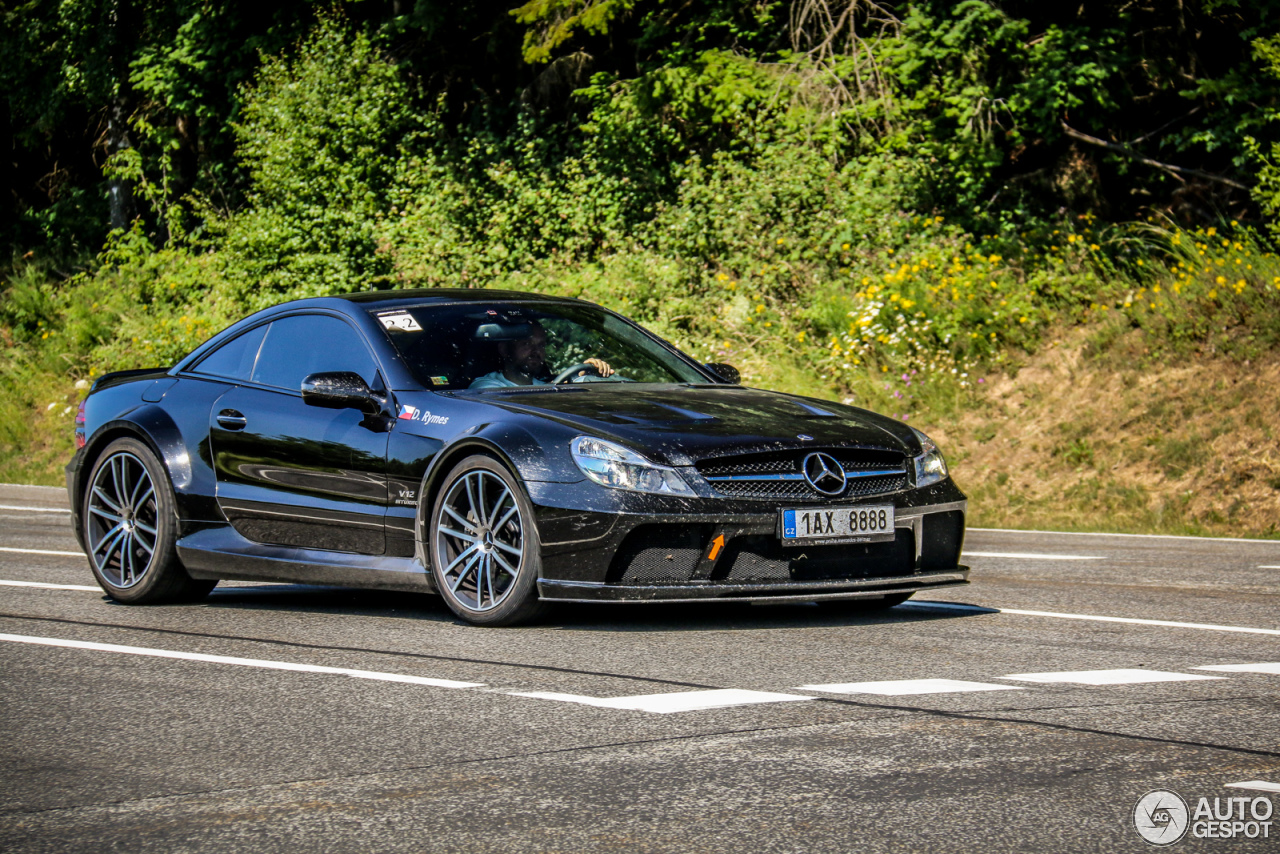 Mercedes benz sl 65 amg black series 27 july 2015 for Mercedes benz sl65 amg black series price