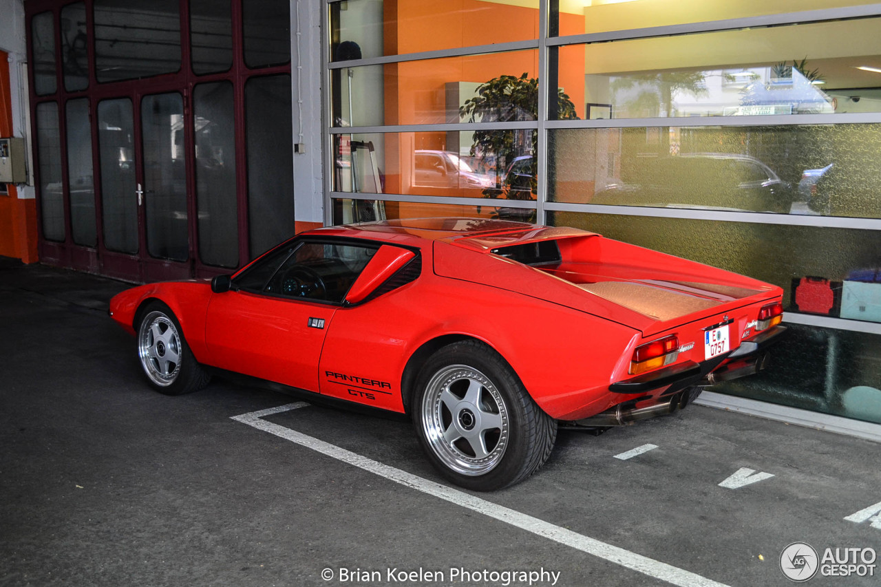 de tomaso pantera gts 28 july 2015 autogespot. Black Bedroom Furniture Sets. Home Design Ideas