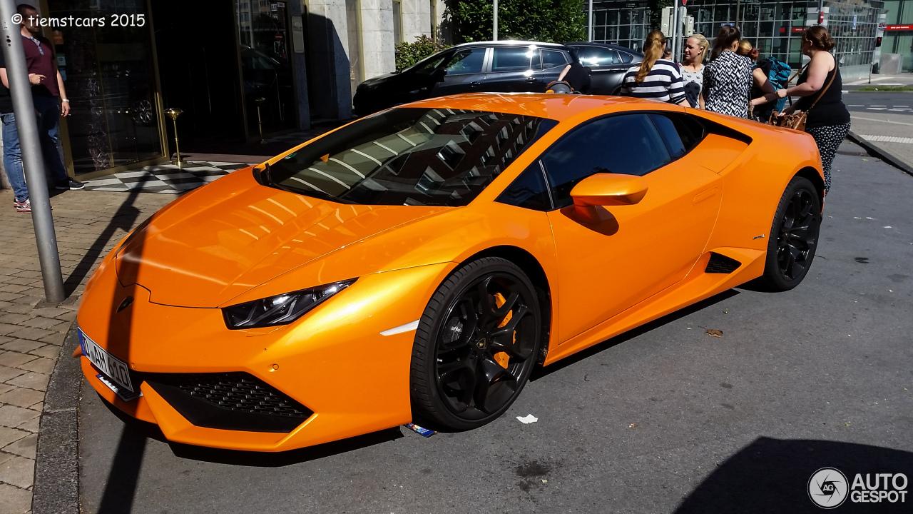 Lamborghini Hurac 225 N Lp610 4 28 July 2015 Autogespot