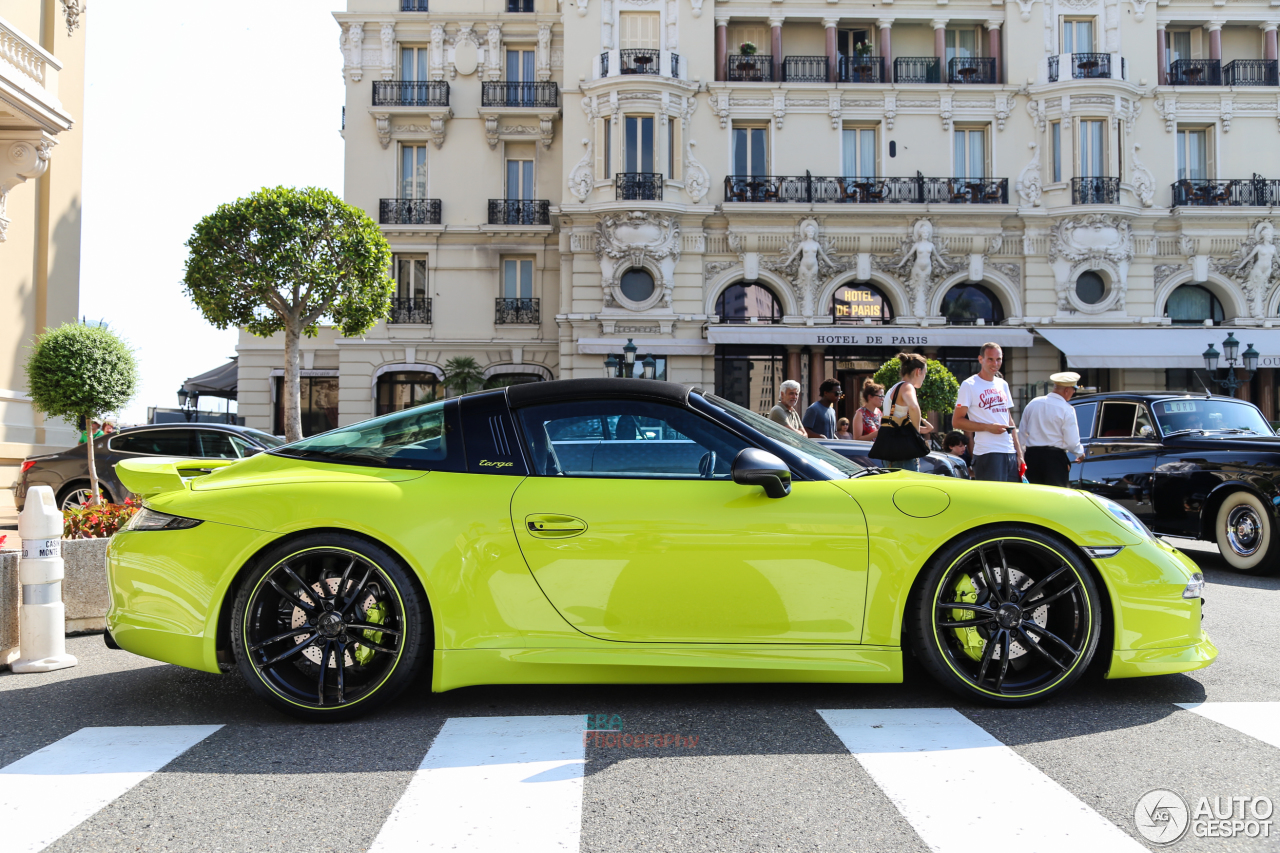 porsche 991 techart targa 4s 28 juillet 2015 autogespot. Black Bedroom Furniture Sets. Home Design Ideas