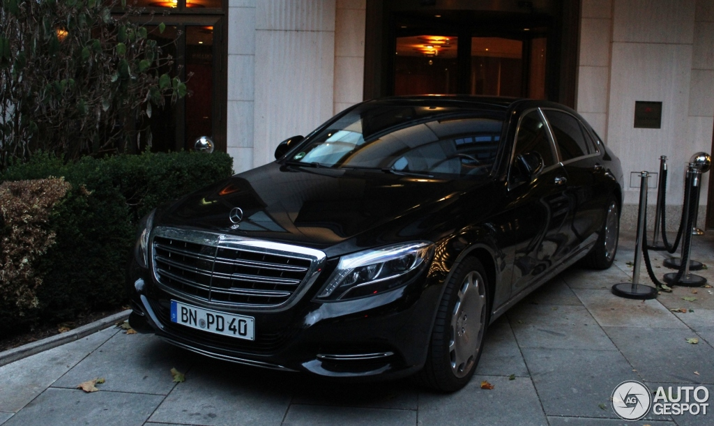 Mercedes maybach s600 29 july 2015 autogespot for 2006 mercedes benz s600 for sale