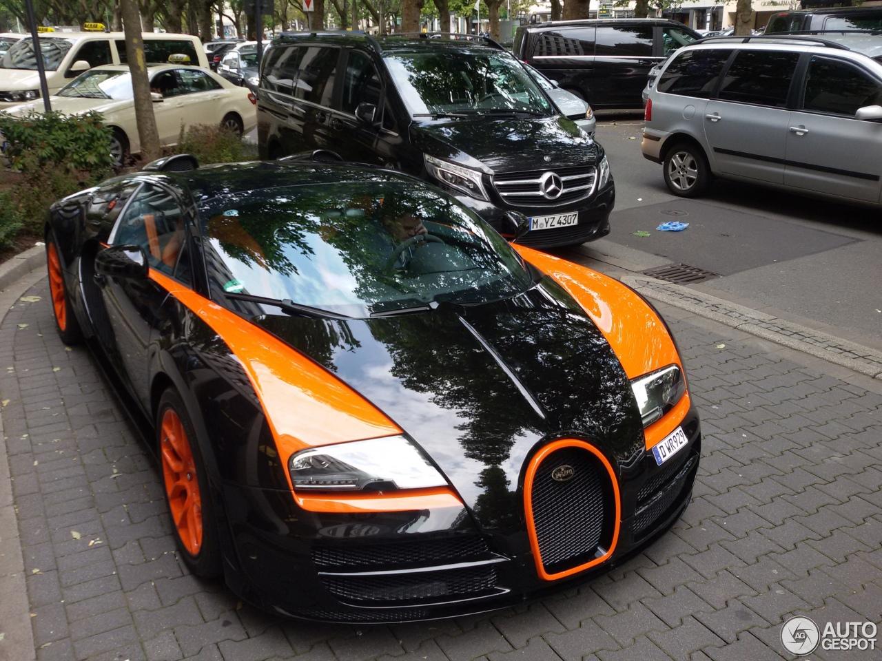 bugatti veyron 16 4 grand sport vitesse world record car edition 30 juli 2015 autogespot. Black Bedroom Furniture Sets. Home Design Ideas