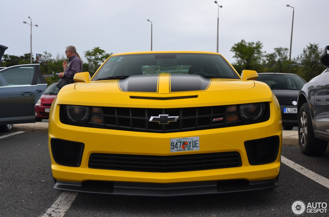 chevrolet camaro ss transformers edition 30 july 2015 autogespot. Cars Review. Best American Auto & Cars Review