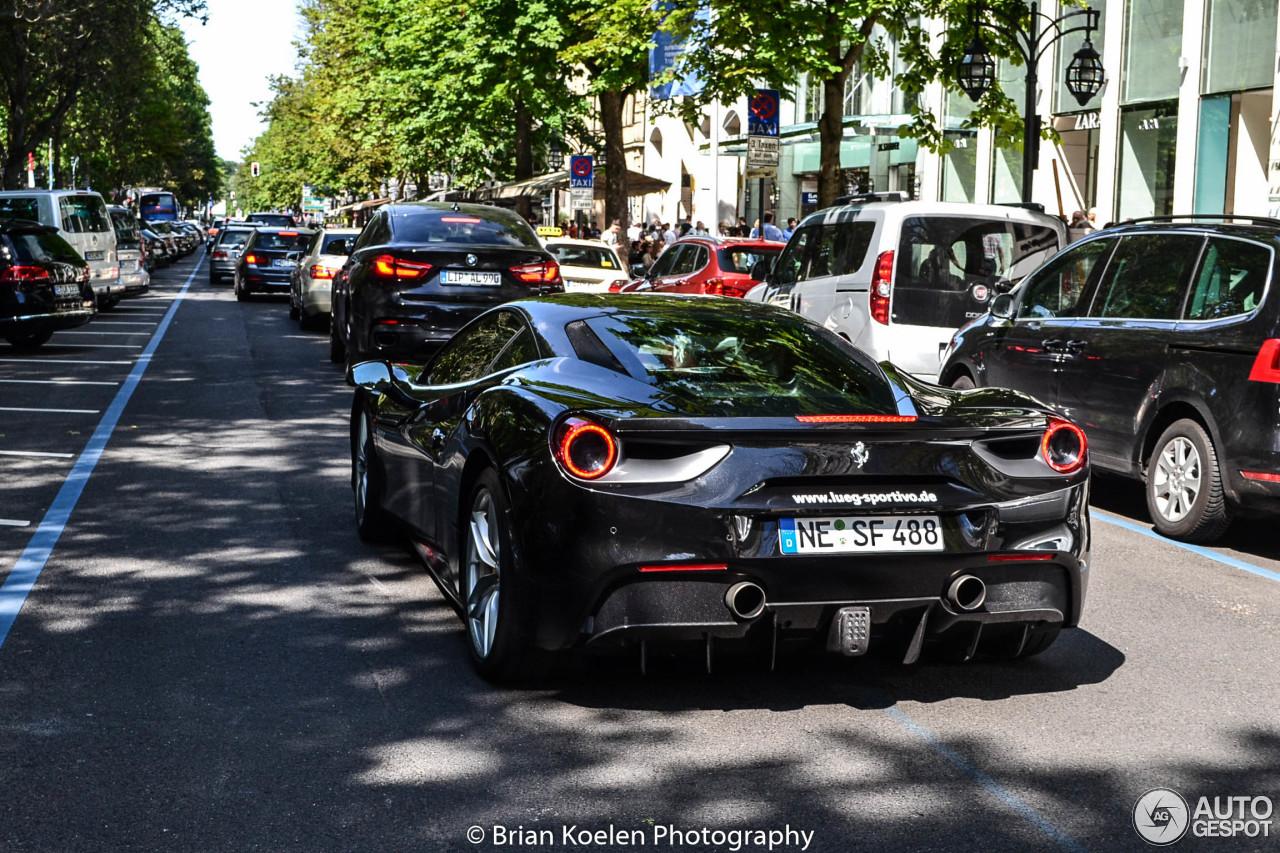 1 i ferrari 488 gtb 1 - Ferrari 488 Gtb Black