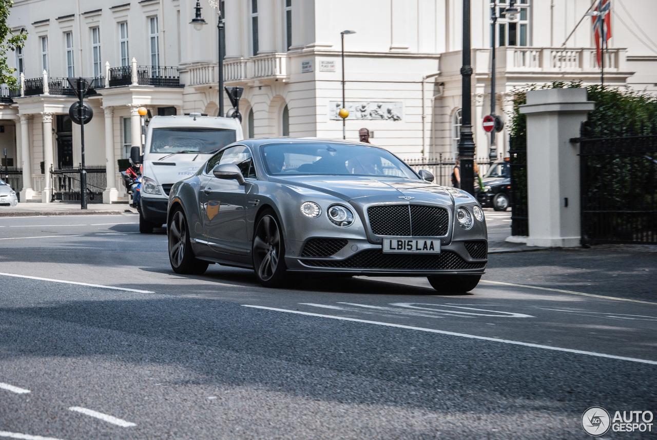 Bentley Continental Gt Speed 2016 1 August 2015 Autogespot